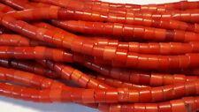 anciennes perles de troc prosser rouge bohème debut 1900 Afrique trade beads