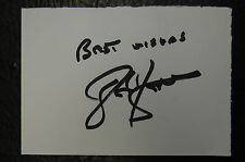 JOHN BARNES LIVERPOOL 1989 FA CUP WINNERS SIGNED CARD