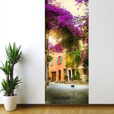 Creative 3D Door Sticker Waterproof Bedroom Living Room Self-Adhesive Wallpaper