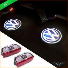 2x LED Türlicht VW Passat Tiguan Sharan Golf Jetta CC EOS Warnleuchte + Logo Neu