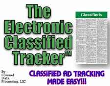 Electronic Classified Tracker™ Software by CDP