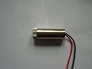 1 Stück Infrarot Laser - punkt - modul / 30 mw 980nm /fokussierbar/ Infrared/ IR