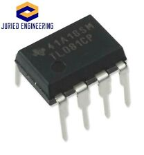 5pcs Tl081cp High Slew Rate Jfet Input Operational Amplifier