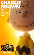 The Peanuts Movie (2015) Movie Poster (24x36) - Charlie Brown, Snoopy, Lucy v5