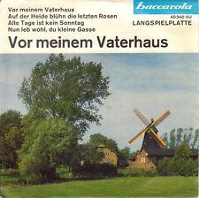 Schallplatte Vinyl 7'' Single - Vor meinem Vaterhaus