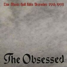OBSESSED , THE - LIVE IN KOLN NEW VINYL RECORD