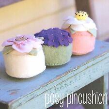 Posy Pincushion-macchine per cucire Craft PATTERN-Needlework PIEDINI FELTRO