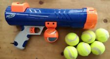 Nerf Dog Tennis Ball Blaster Gun 50ft Launcher Thrower Fetch Toy