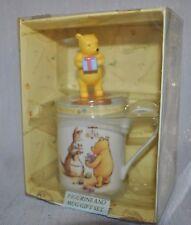 NEW ROYAL DOULTON Winnie Pooh CHRISTENING TIME Collection Figurine MUG Disney