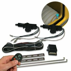 Custom VW Power Door Lock Kit with Remotes