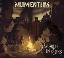 MOMENTUM -  A world in ruins (NEW*HEAVY METAL*DK*PRE-SAVAGE MACHINE)