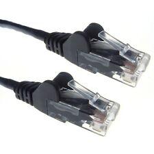 Cat6 anti-coupure 5m câble réseau Ethernet Gigabit Noir PC Routeur plomb