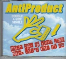 (BD965) Antiproduct, Best Day Of Your Life - 2000 DJ CD