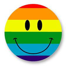 Porte clé Keychain Ø45mm Smiley Peace Face Smile Sourire Souriard Emoticon