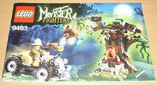 Lego Monster Fighters Bauplan für 9463, only instruction