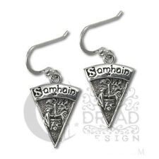 Dryad Designs Silver Sabbat Samhain Earrings by Paul Borda Wiccan
