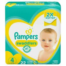Pampers Swaddlers size 4 22 count - BUY MORE & SAVE 20%!!