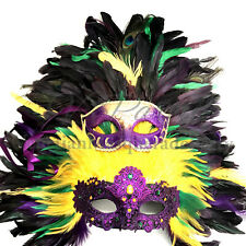 2020 Mardi Gras Masquerade QUEEN ShowGirl Birthday Cosplay Parade Carnival Party