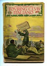 RIVISTA MENSILE DEL TOURING CLUB ITALIANO Anno XXII N.6 Giugno 1916