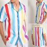 Men Hawaiian Short Sleeve T-Shirt Summer Casual Beach Surf Tee Shirt Hawaii Top