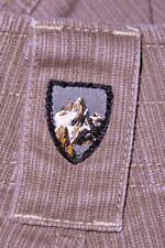 Mens GUC Khaki Striped KUHL Technical Outdoor Denim Pants size 34x34