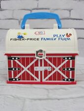 Fisher Price Family Play Farm Barn Lunch Box
