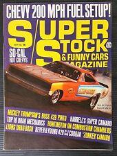 Super Stock & FX  May 1971 Mickey Thompson 429 Pinto - Dick Harrells Camaro