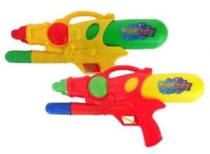 """Kids Children Fun Game Large 15"""" Outdoor Garden Water Gun Pump Action Sprayer"""