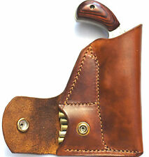 Pocket holster with ammo pouch for NAA 22 Sidewinder or Sheriff  2.5 inch barrel