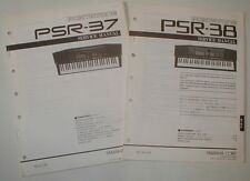 Yamaha Portatone PSR-37 PSR-38 Piano Organ Service Repair Manual Schematics Part