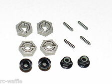TLR03008 TEAM LOSI TLR 1/10 TEN-SCTE 3.0 SHORT COURSE 12MM WHEEL HEXES W/NUTS
