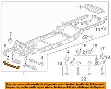GM OEM FRAME-Front Cross Member 84181195
