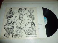 "CARGO - Jazz Rap - Vol 1 - 1985 UK 2-track 12"" Vinyl Single"