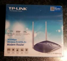 BRAND NEW sealed TP-Link TD-W8960N 300Mbps wireless router. Blue colour.