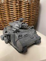 Wahammer 40k Predator Tank Space Marines Games Workshop Citadel Model
