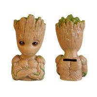 Guardians of Galaxy Baby Groot Tree Man Coin Deposit Box Money Saving Piggy Bank