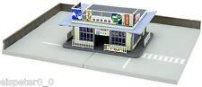 Faller/Tomytec 975535 Spur N ländliches Bus-Depot, Miniaturwelten 1:160