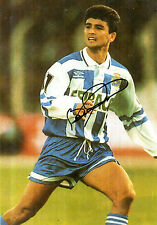 BRAZILIAN STAR BEBETO HAND SIGNED COLOUR PHOTOGRAPH 8 x 6