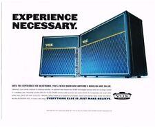 2002 VOX Valvetronix Amplifier Amp Vtg Print Ad