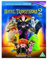Hotel Transylvania 2 (3D Blu-Ray + Standard 2D + UV Version) Region Free *NEW*