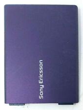 Sony Ericsson W380 W380i W380a Battery Door Back Cover Housing Case Purple OEM