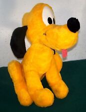 "Vintage Big 16"" Walt Disney Productions Pluto Dog - California Stuffed Toys"