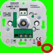 UNTERPUTZ DRUCK/WECHSEL DIMMER SCHALTER 10-100 Watt(LED 3-35 W) 3700x0800 T37.08