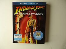 Indiana Jones and the Temple of Doom (Blu-ray Disc, 2013) NEW w/slipcover