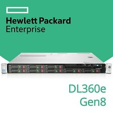HP ProLiant DL360e Gen8 2x 6-Core Xeon E5-2430L V2 24GB RAM 1U G8 Rack Server