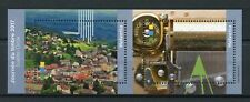 Switzerland 2017 MNH Sainte-Croix Stamp Day 2v M/S Architecture Tourism Stamps