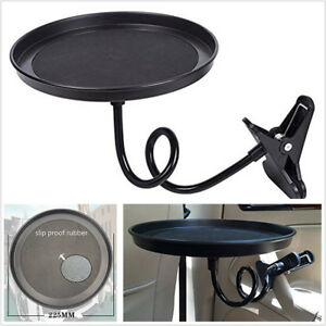 Car Multifunctional Tray Food/Drink/Coffee 360° Swivel Mount Travel Table Tray