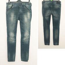 G Star Raw Denim Women Jeans 5620 Slim Leg Blue Midwood Casual Pant 26W 32L