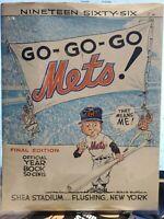 1966 New York Mets Original Year Book.