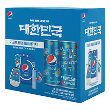 PEPSI Cola Coke Aluminum Can Limited Special Korean Edition 330ml Pack of 6 Cans